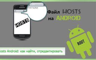 Hosts Android: как найти, отредактировать и где находится