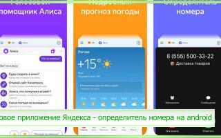 Новое приложение Яндекса – определитель номера на android: как скачать, установить и включить