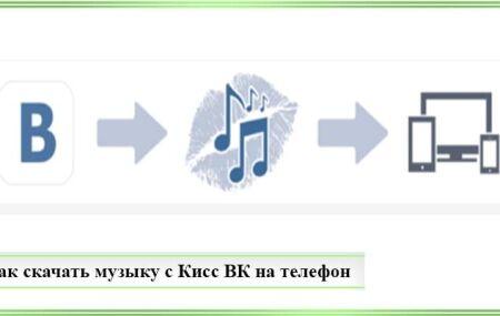 Как скачать музыку с Кисс ВК бесплатно на телефон
