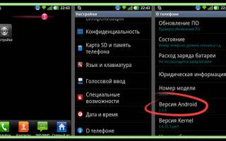 Как узнать, какая версия андроид на телефоне и планшете