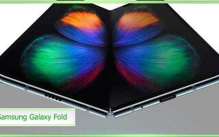 Самсунг Галакси Фолд с гибким экраном: обзор, цена, характеристики, цена