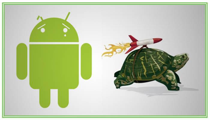 андроид тормозит