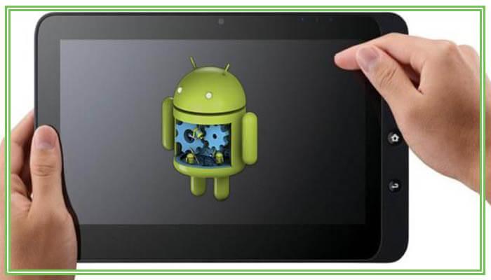 андроид планшет не загружается дальше логотипа
