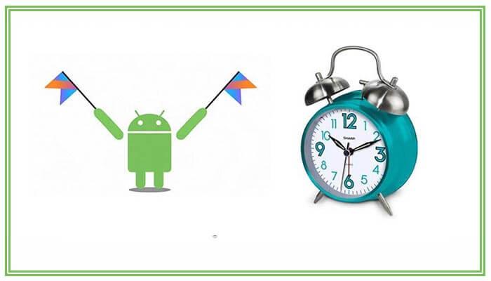 почему не звонит будильник на андроиде