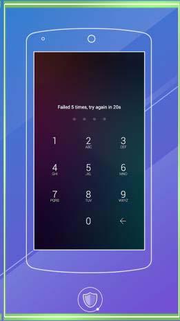 как поставить пароль на приложение samsung