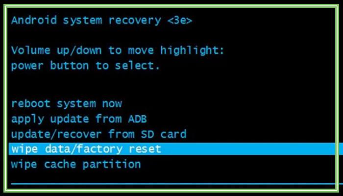 как сбросить андроид до заводских настроек с помощью кнопок