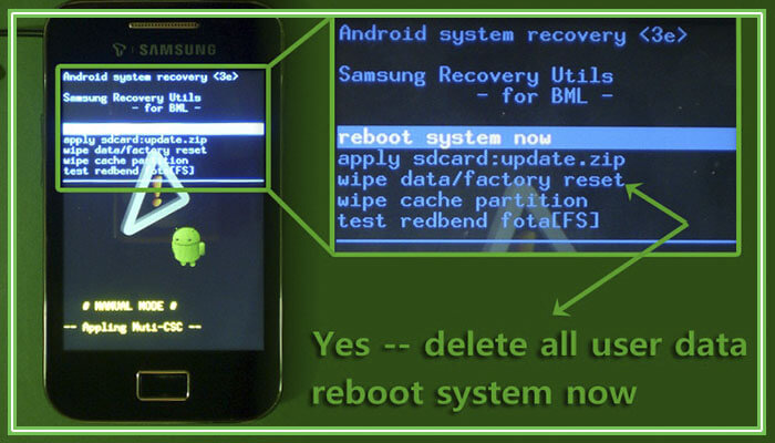 сброс до заводских настроек андроид леново