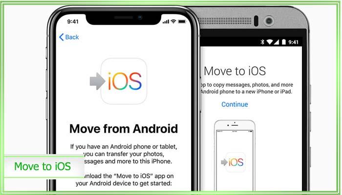 как перенести контакты с айфона на андроид через icloud