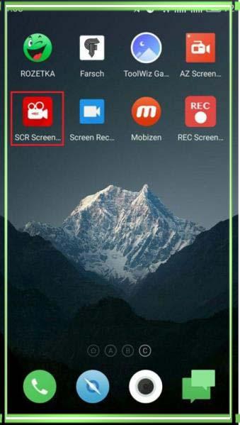 как сделать видео скриншот экрана на андроиде
