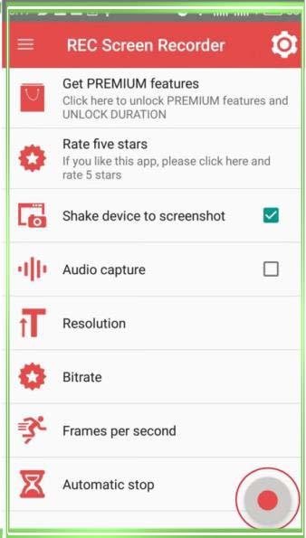 как снять скриншот видео с экрана андроид