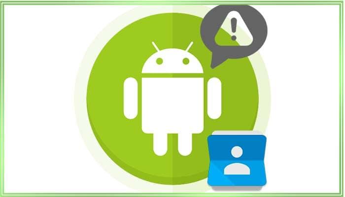 почему не синхронизируются контакты с телефона в google