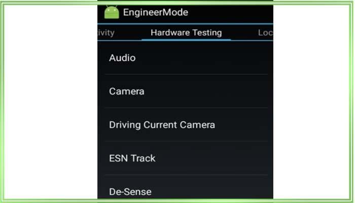 Для изменения громкости потребуется раздел под названием «Hardware Testing « и, соответственно, пункт под английским словом «Audio»