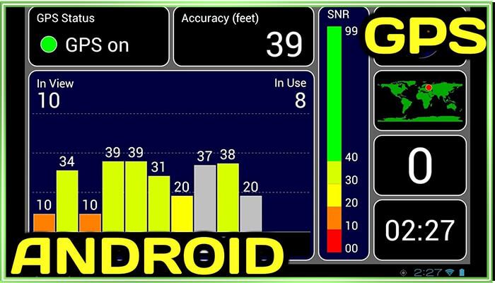тест gps для андроид